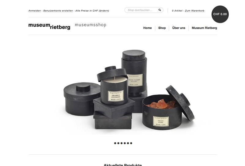 Museum Rietberg – Online-Shop