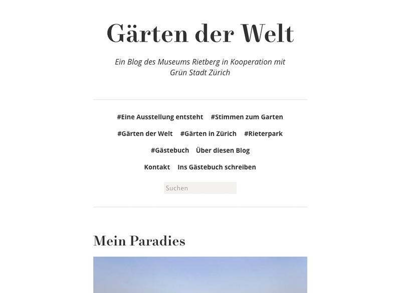 Gärten der Welt (Blog)